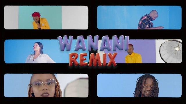 Bahati ft Mejja, Petra, Odi wa murang'a, Ssaru & Benzema – Wanani [Remix]