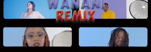 Download Bahati ft Mejja, Petra, Odi wa murang'a, Ssaru & Benzema – Wanani [Remix]