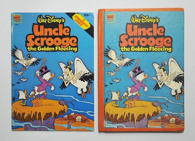 Uncle Scrooge the Golden Fleecing - Dynabrite comics and Goldencraft book