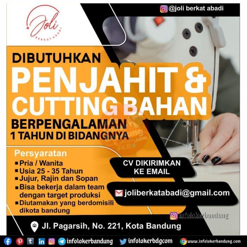 Lowongan Kerja Joli Berkat Abadi Bandung Juli 2021