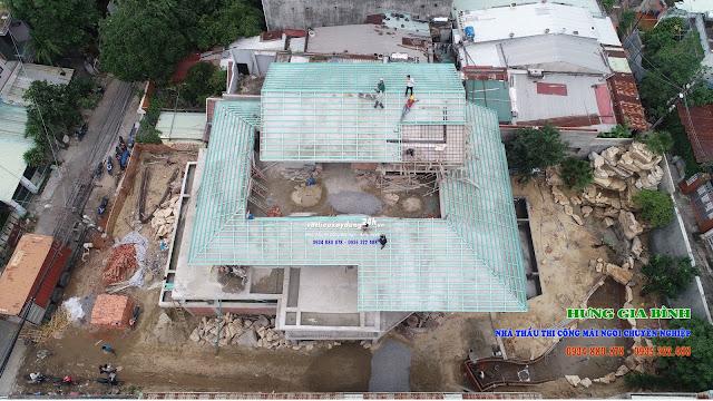 Nhà thầu thi công mái ngói trọn gói chuyên nghiệp tại Đà Nẵng, Hội An, Tam Kỳ, Quảng Nam