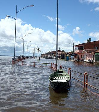 EM MARABÁ RIO TOCANTINS SE APROXIMA DOS 9 METROS: DEFESA CIVIL SE PREOCUPA