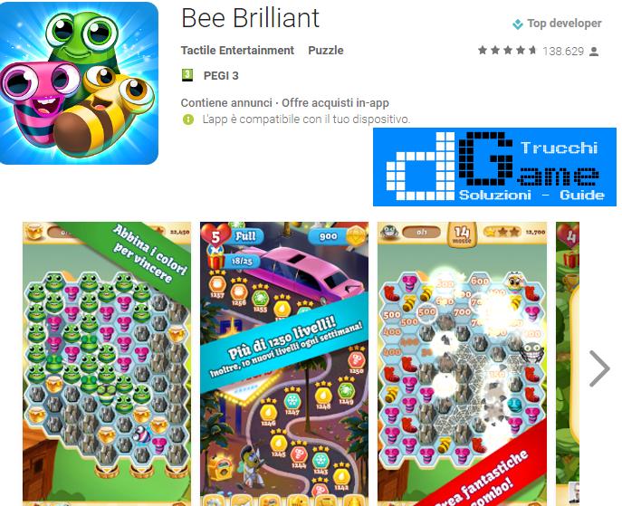 Trucchi Bee Brilliant Mod Apk Android V1.36.1