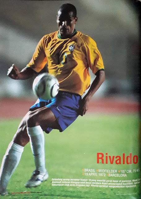 RIVALDO OF BRASIL
