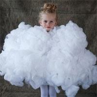 La Reines Blog Karneval Ausgefallenes Kostum Wolke Selbermachen