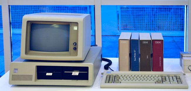 hayatta ilk defa IBM PC