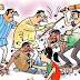 कुण्डवाचैनपुर:-  भूमि विवाद में हुई मारपीट में एक दर्जन घायल