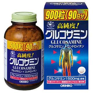 giá glucosamine Orihiro 1500mg nhật 900 viên