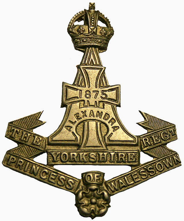 Yorkshire Regiment (Green Howards) cap badge