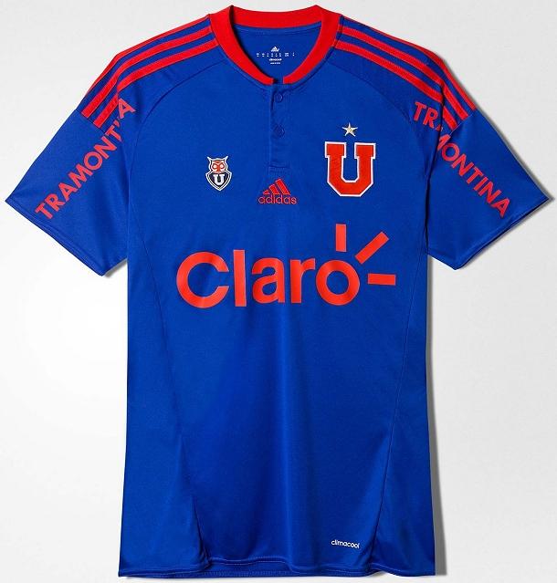... Adidas lança nova camisa titular do Universidad de Chile - Show de  Camisas 5b68bca26b8f5e ... e4dc4a258fd17
