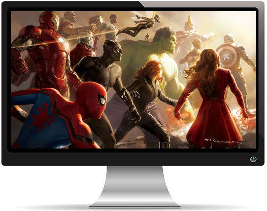 Avengers Infinity War Artwork 2 - Fond d'Écran en Full HD