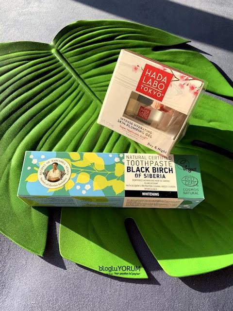 hada labo tokyo skin plumping gel Recipes of Babushka Agafia Black Birch Beyazlatıcı Diş Macunukullananlar