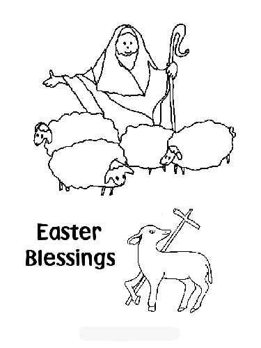 Free Coloring Pages: Christian Easter Coloring Pages