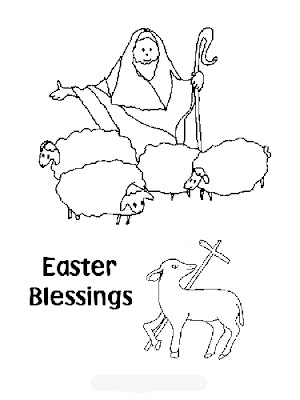 Christian easter coloring pages printable ~ Free Coloring Pages: Christian Easter Coloring Pages