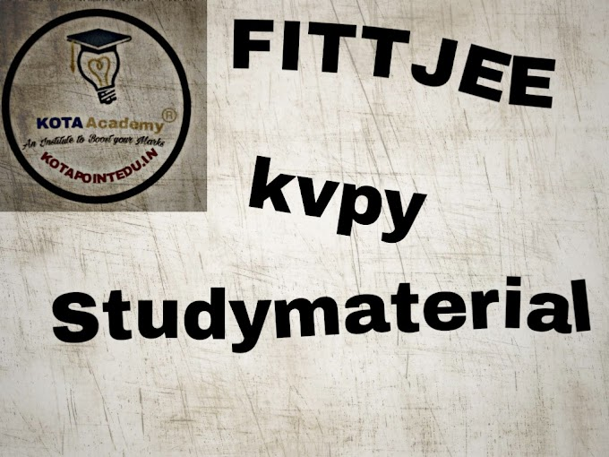 FITTJEE KVPY Mock Test PCB Download PDF