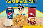 KFC Promo OttoPay Cashback 74% Pakai Jakone Mobile