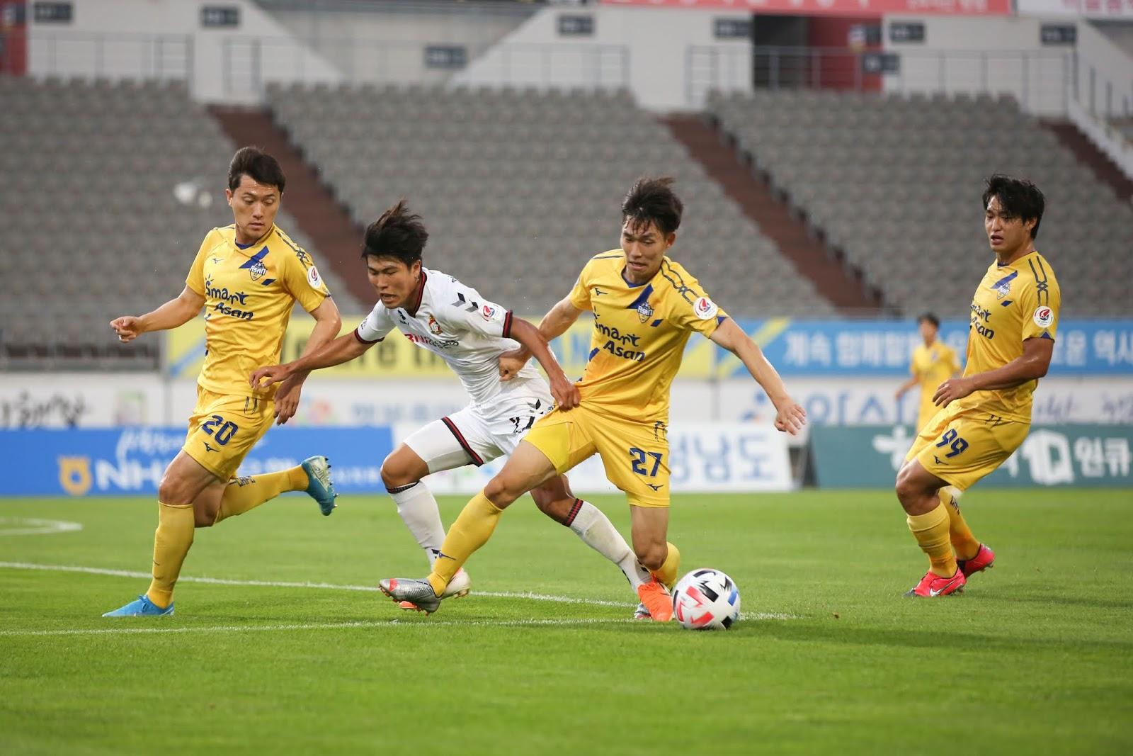 Gyeongnam FC vs Chungnam Asan