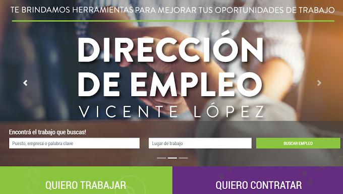 Vicente López:  Más de 500 personas consiguieron empleo a través del portal laboral del municipio en 2020