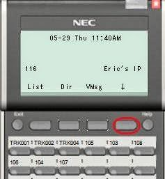 NEC SV8100 Phone Training: DND Do not Disturb From a ...