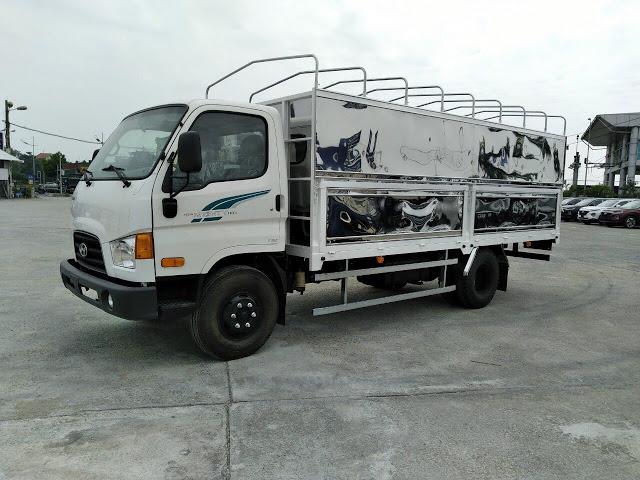 Hyundai 110SQ thùng bạt