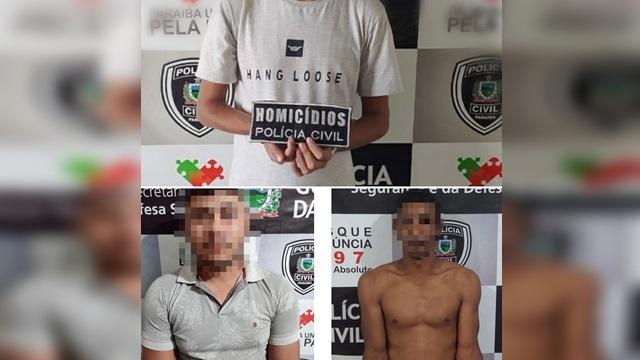 Policia Civil prende suspeitos de chacina em Catolé do Rocha além de envolvimento em homicídios na região