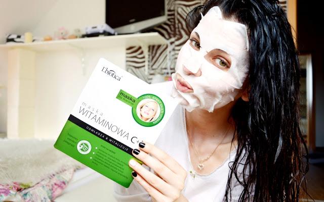 **Maska witaminowa C+E Lbiotica ** - Czytaj więcej »