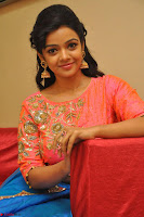 Nithya Shetty in Orange Choli at Kalamandir Foundation 7th anniversary Celebrations ~  Actress Galleries 122.JPG