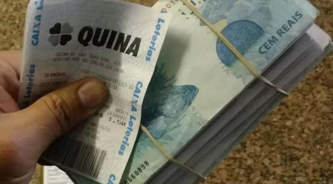 Idosa cai no conto do bilhete premiado em Castro