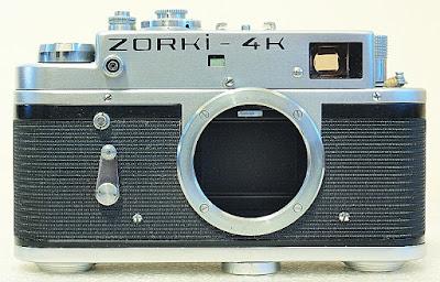 Zorki-4K, Front