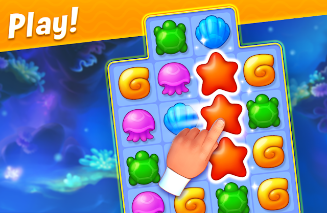 Game Puzzle Android Terbaik Fishdom
