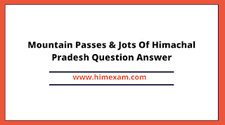 Mountain Passes & Jots Of HP In Hindi PDF