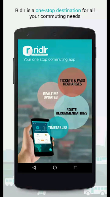 Now recharge BEST bus passes anytime anywhere on the Ridlr mobile application!