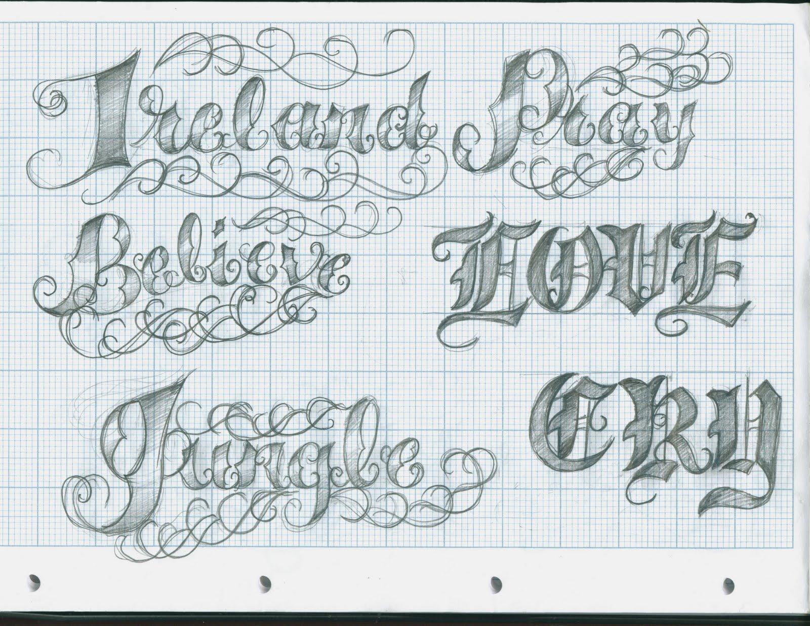 tattoo lettering2