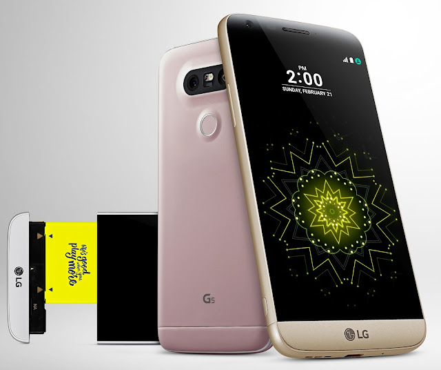 "Modular Design Linked To ""Play"" Theme #LgG5 @LGMobileSA #LGPlayMore #Thelifesway"
