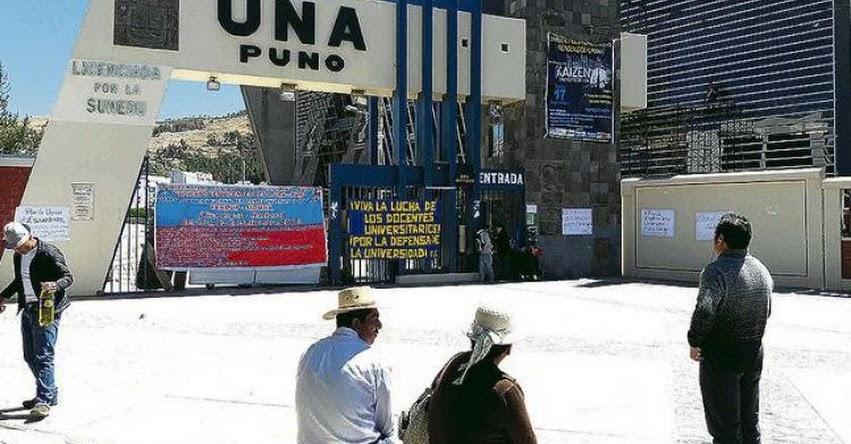 UNA PUNO: Anulan Examen de Admisión en la Universidad Nacional del Altiplano - UNAP - www.unap.edu.pe