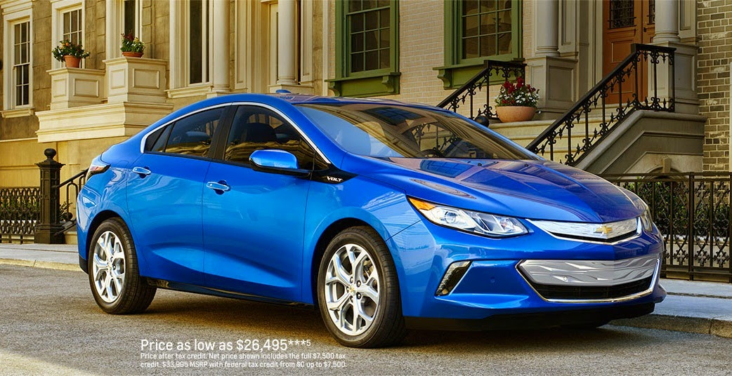 All New 2016 Volt Electric Hybrid Car Price