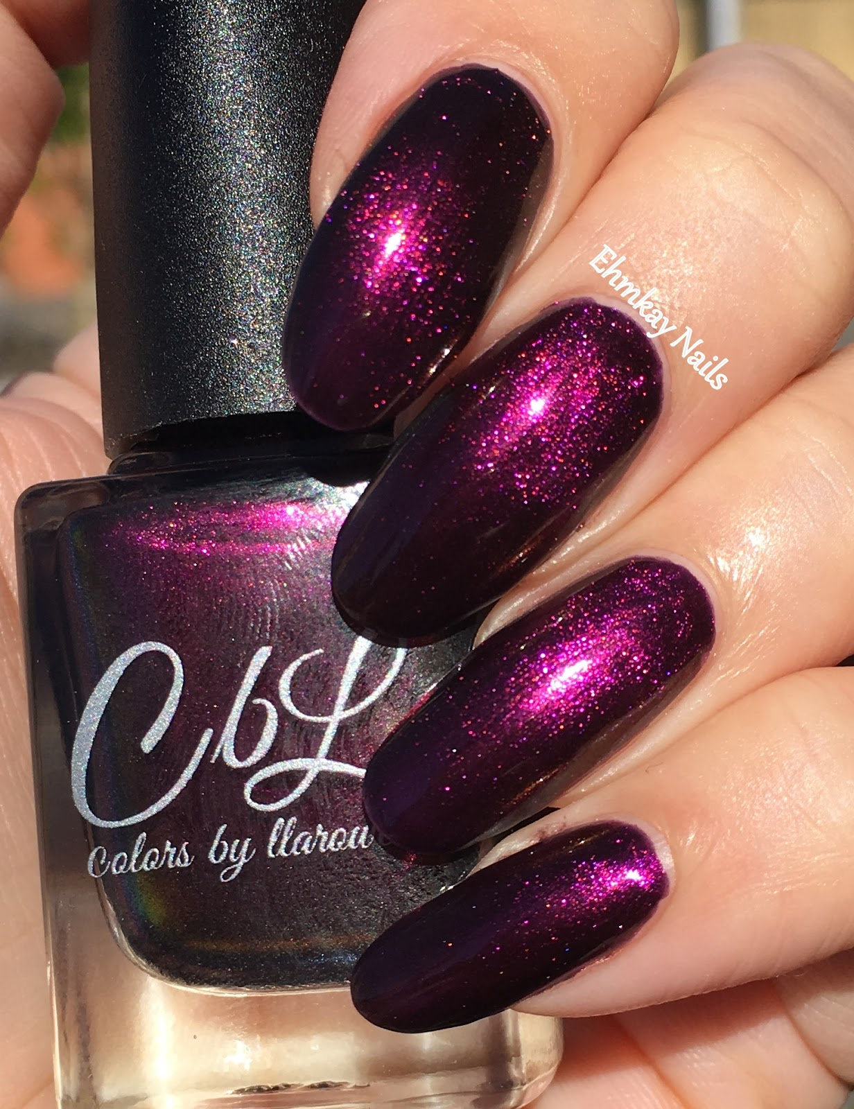 ehmkay nails: Colors by Llarowe Fool\'s Gold, December Polish of the ...