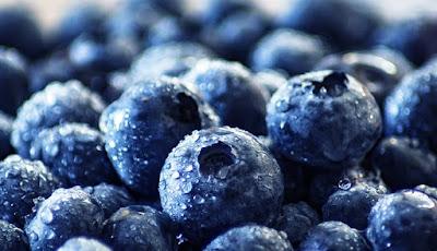 Gambar blueberry yang tinggi antioksidan