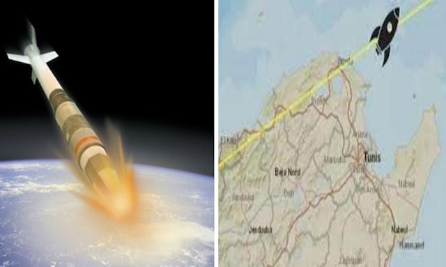 سقوط الصاروخ الصيني الخارج عن السيطرة
