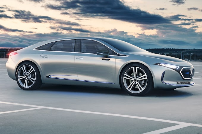 Mercedes-Benz Preparing The Electric EQE Saloon in 2022