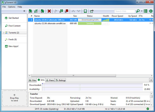 5 best free BitTorrent clients