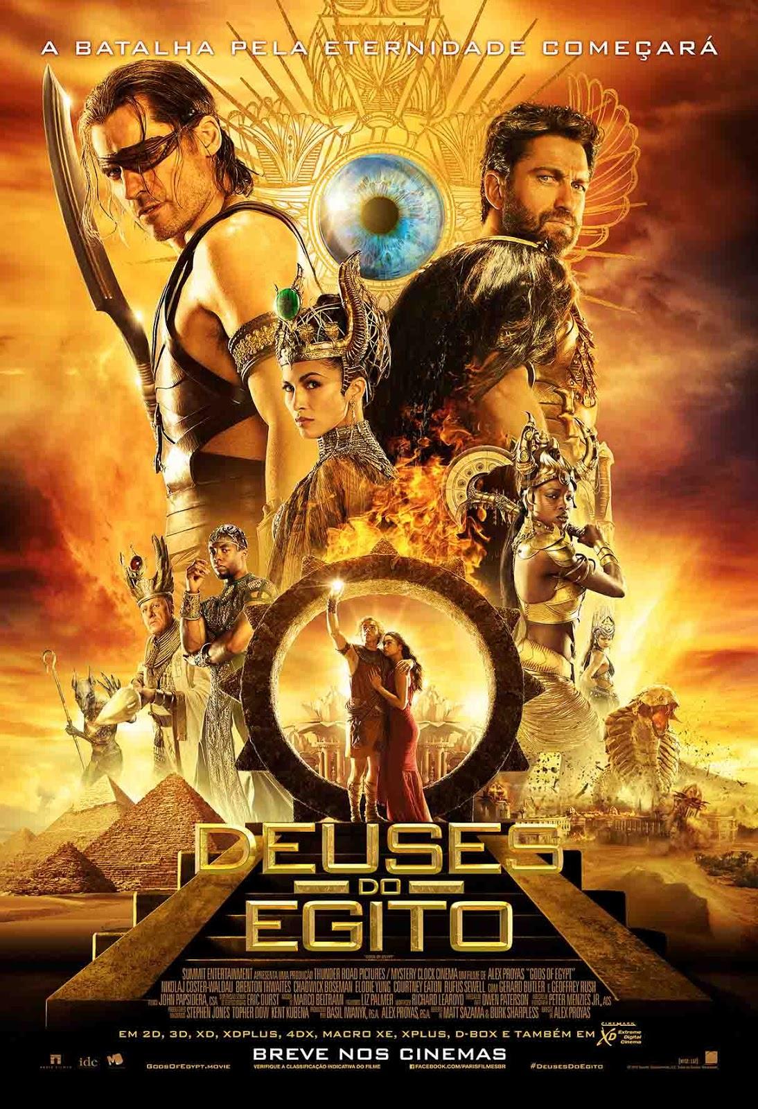Deuses do Egito 3D Torrent – Blu-ray Rip 1080p Dual Áudio (2016)