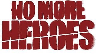 Travis Strikes Again No More Heroes Logo Wallpaper