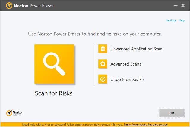 تحميل برنامج Norton Power Eraser المضاد للفيروسات والبرمجيات الخبيثة  وتقديم الحماية الضرورية للكمبيوتر