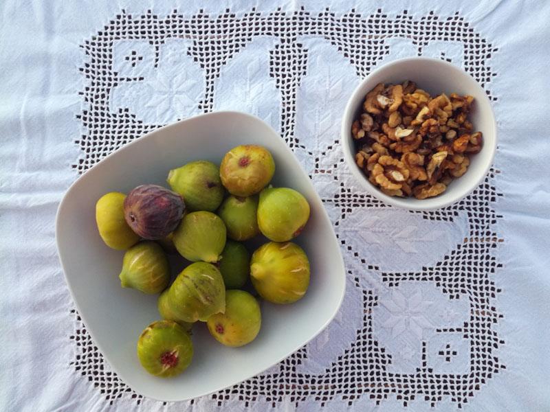 Foto: fichi di Maiorca con noci della Transilvania