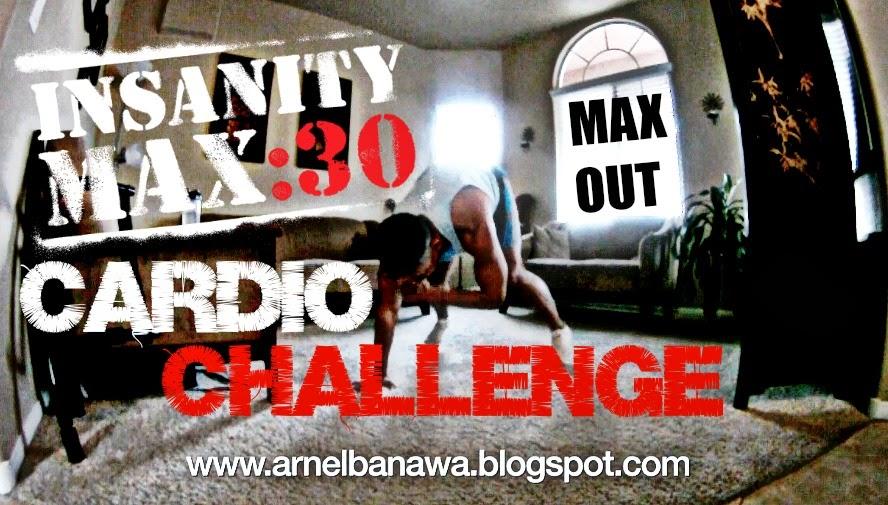 Insanity MAX 30 - Cardio Challenge Workout | Arnel Banawa