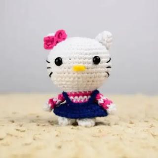 Amigurumi Hello Kitty a Crochet