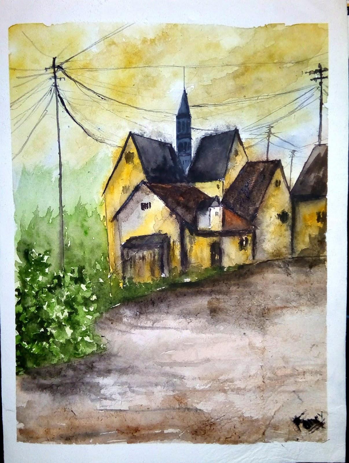 Fancy S Art Easy Landscape Painting