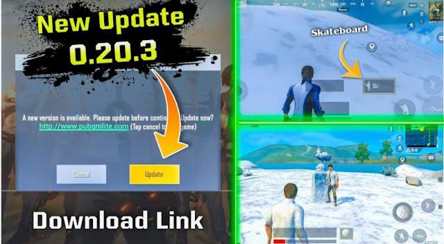 PUBG Mobile Lite 0.20.3 Beta Update APK Download link