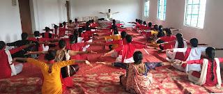 शरीर को स्वस्थ रखने लिये प्रतिदिन करें योगाभ्यासः राज यादव | #NayaSaberaNetwork